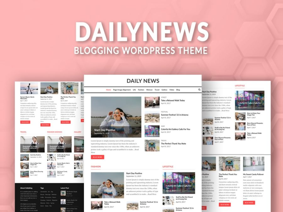 WordPress blog theme