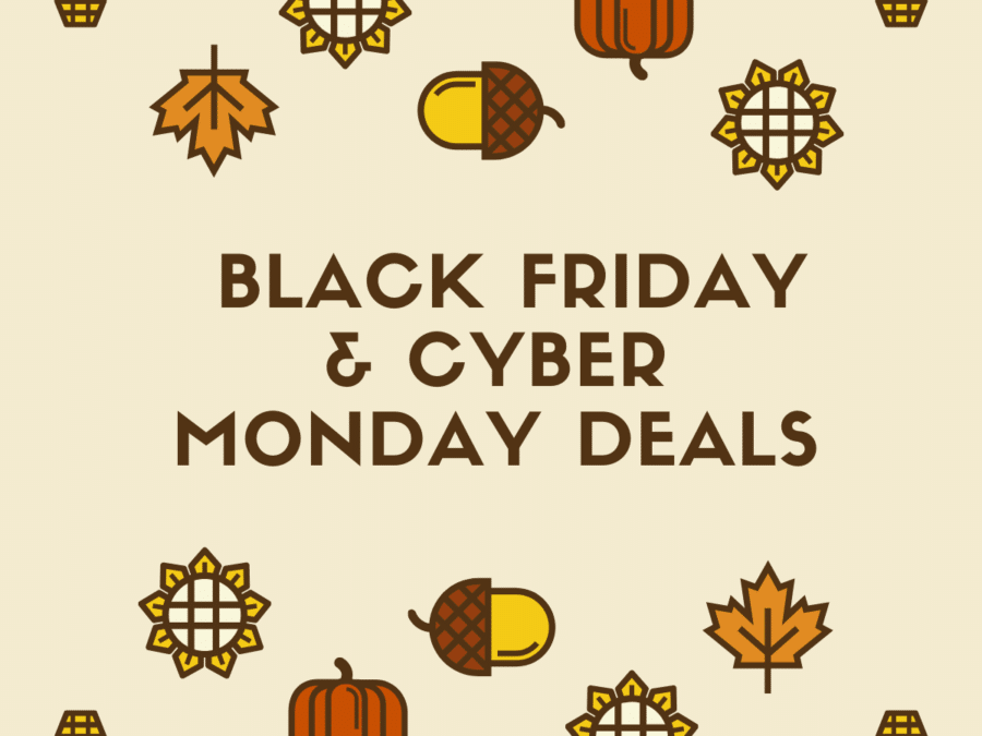 Black Friday And Cyber Mondy Deals 2019