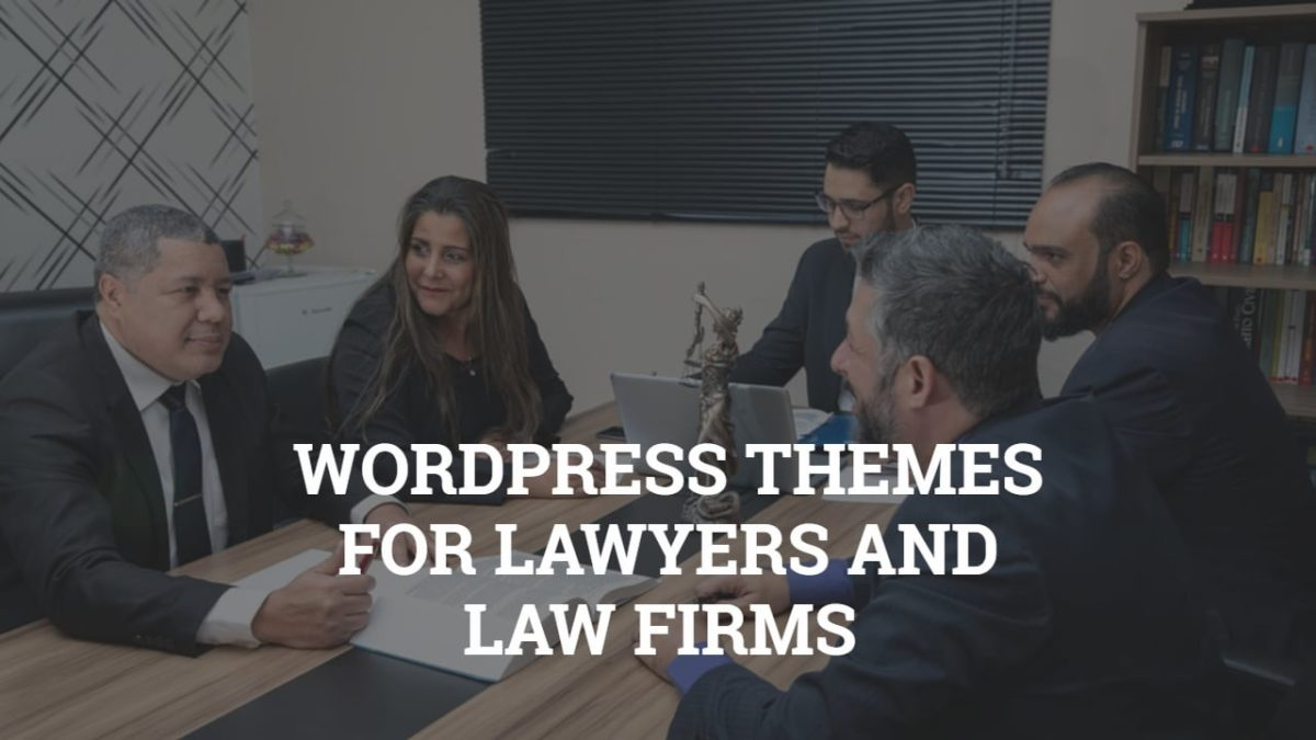 WordPress Themes For Lawyers