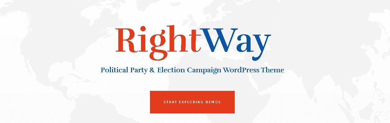 Political Blog WordPress Themes