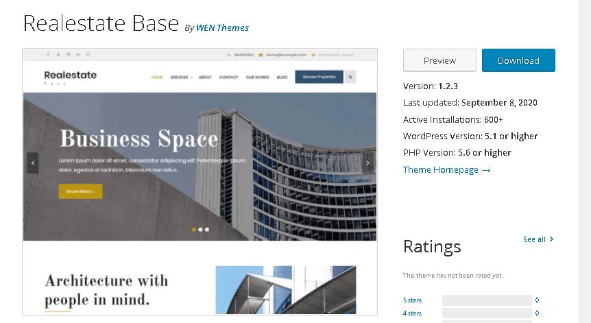 Free Real Estate WordPress Themes