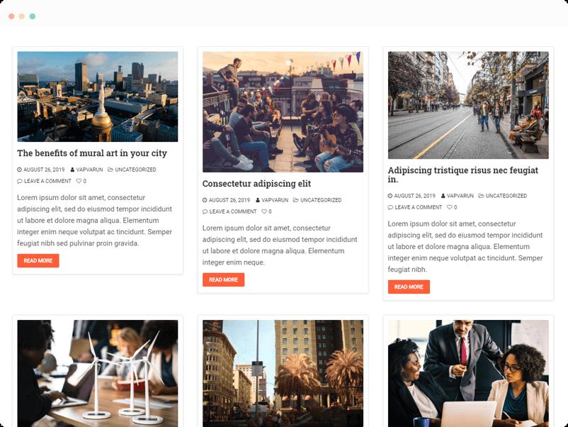 Multiple-Blog-Layout