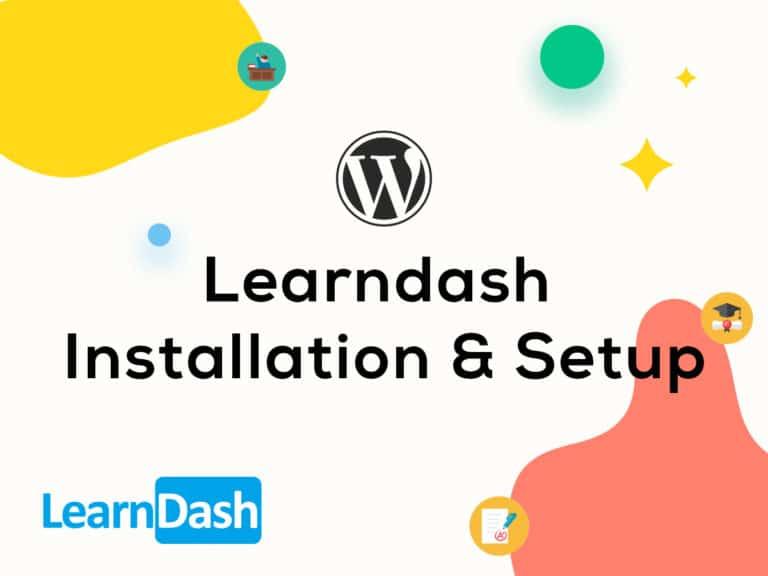 Learndash Installation & Setup