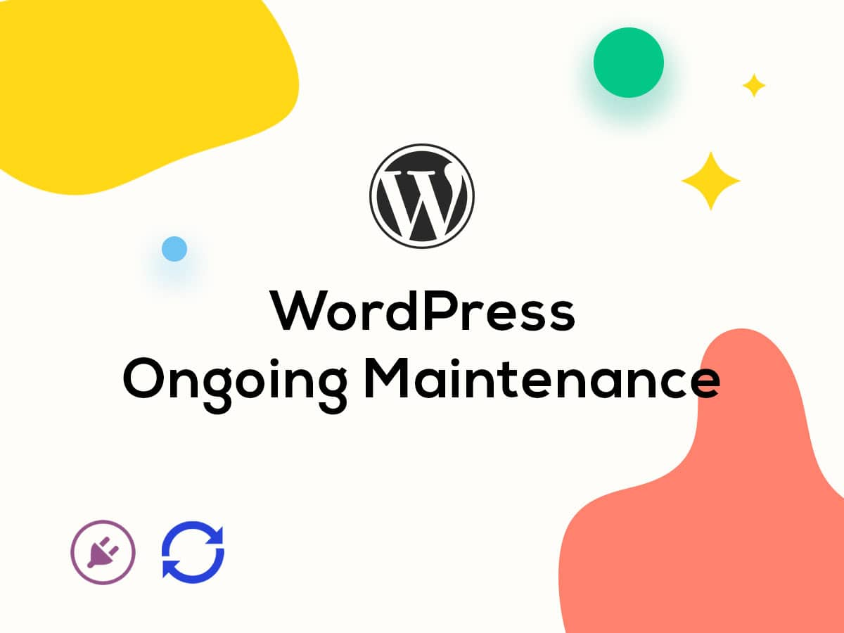 WordPress ongoing maintenance
